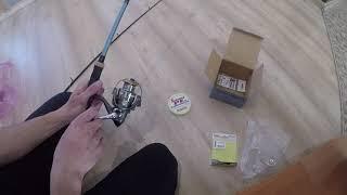 Как собрать и подготовить спиннинг к первой рыбалке!?