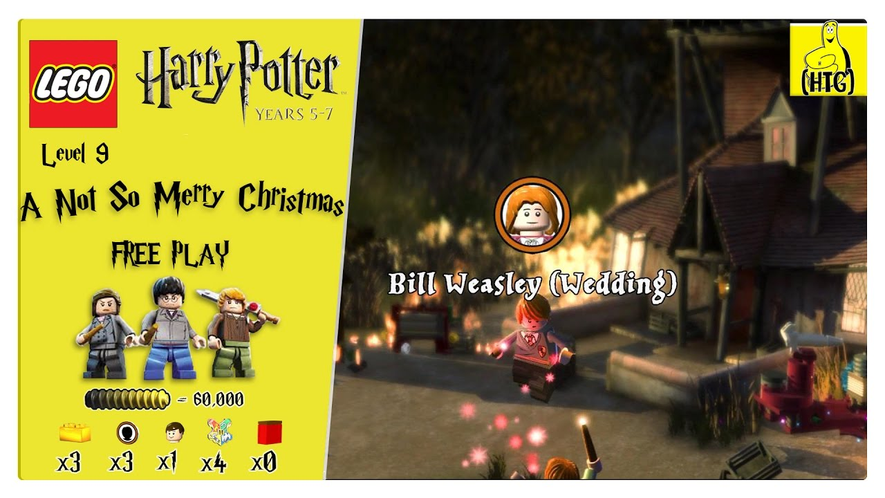 Lego Harry Potter Years 5 7 Lvl 9 Not So Merry Christmas Free Play All Collectibles Htg Youtube