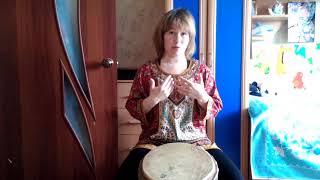 Елена Суслова - новые видеоуроки по джембе