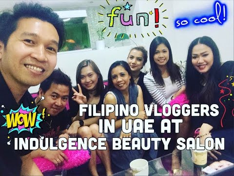 First Meet up of Filipino Vlogger in UAE (1-Apr-2016) Dubai Pinoy Life Vlogs