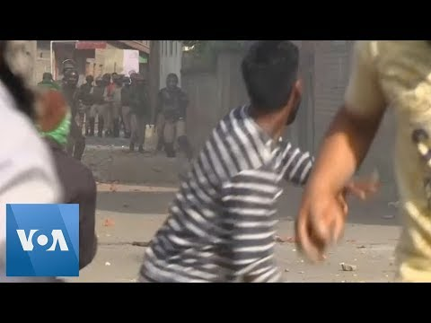 Clashes in Kashmir After Friday Prayers