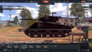 War Thunder под музон - M4A3E2 (76) W/ Продолжаю выкачивать в тОп