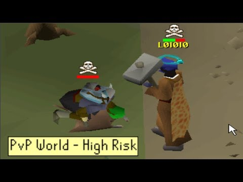 I took the new account to a high risk world (#28)