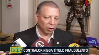 Contralor evaluará denuncia en contra del titular de la comisión UNSA