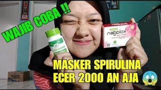 Download lagu REVIEW MASKER SPIRULINA, HARGA ECER 2000 AN DOANG !!! Skincare rutin   sitinurhanaa