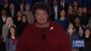 Stacey Abrams delivers Democratic Response to State of the Union Address (C-SPAN)