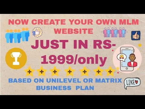 How To Make MLM Website In PHP (Hindi 2020) | Create Your Own Multi Levels Marketing Website