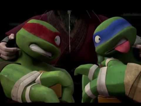 TMNT-Raph And Leo-Impossible
