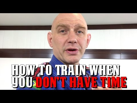 How to Train When You Have No Time to Train