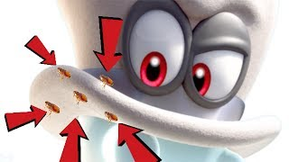 Mario tells Cappy that he has fleas