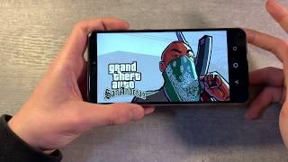 игры Asus ZenFone Max M2 (GTA:SanAndreas, PUBG:Mobile, Gangstar:Vegas)