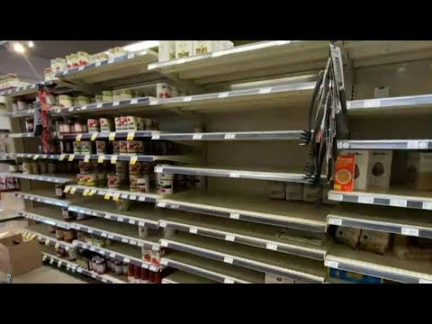 Shoppers Frustrated By Empty Grocery Store Shelves Across Metro Detroit