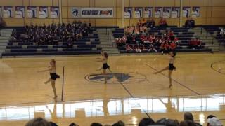 CLHS Emerald Dancers Officers Competition Jazz 2015