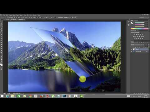 Photoshop Essentials - Transform Images - Useful Options Skewing, Rotating, Distort And Perspective