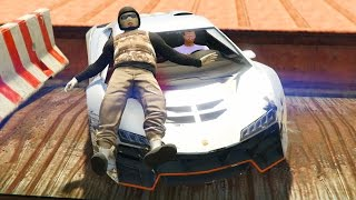 CORRE O TE ATROPELLO!! QUE ERA BROMA!!!! - GTA V ONLINE