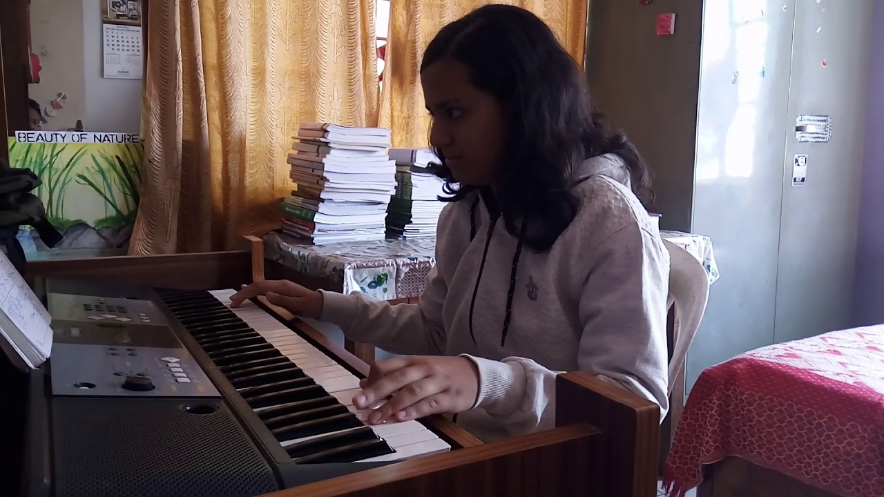 Mangal Deep Jele        ( Lyrics from Bengali Flim Pratidan ) in Keyboard  by Debasmita Sarma