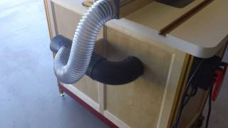 Woodshop Tour Update (incra Router Table) 9/3/11