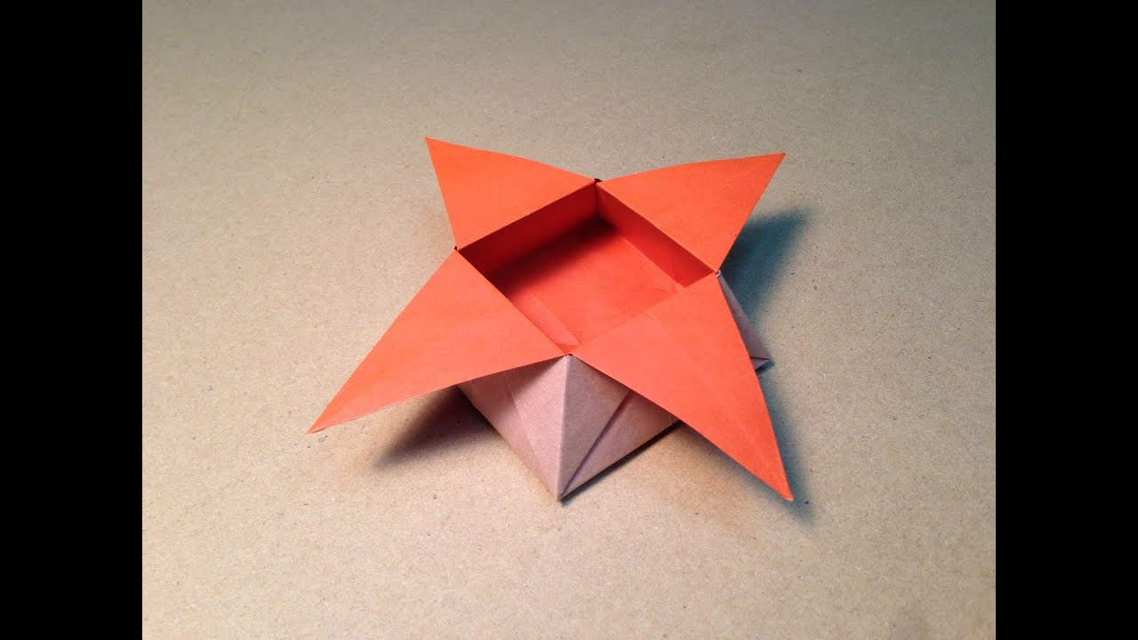 origami star box youtube