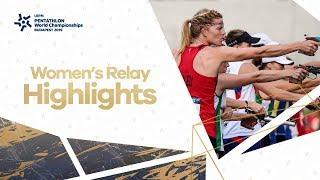 Highlights | UIPM 2019 Pentathlon World Championships Final Budapest HUN - Women's Relay