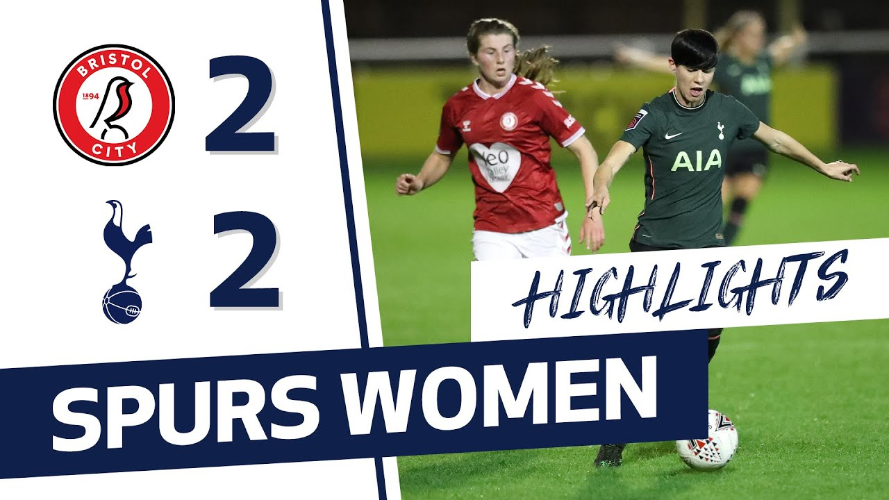 HIGHLIGHTS | BRISTOL CITY 2-2 SPURS WOMEN | Alex Morgan's first Spurs start!