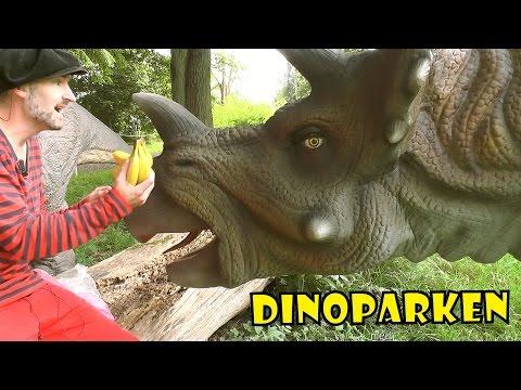TRICERATOPS | DINOPARKEN med Pappa Kapsyl -  kul fakta om dinosaurier för barn