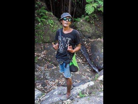 Explore Bali, local waterfall tour adventure