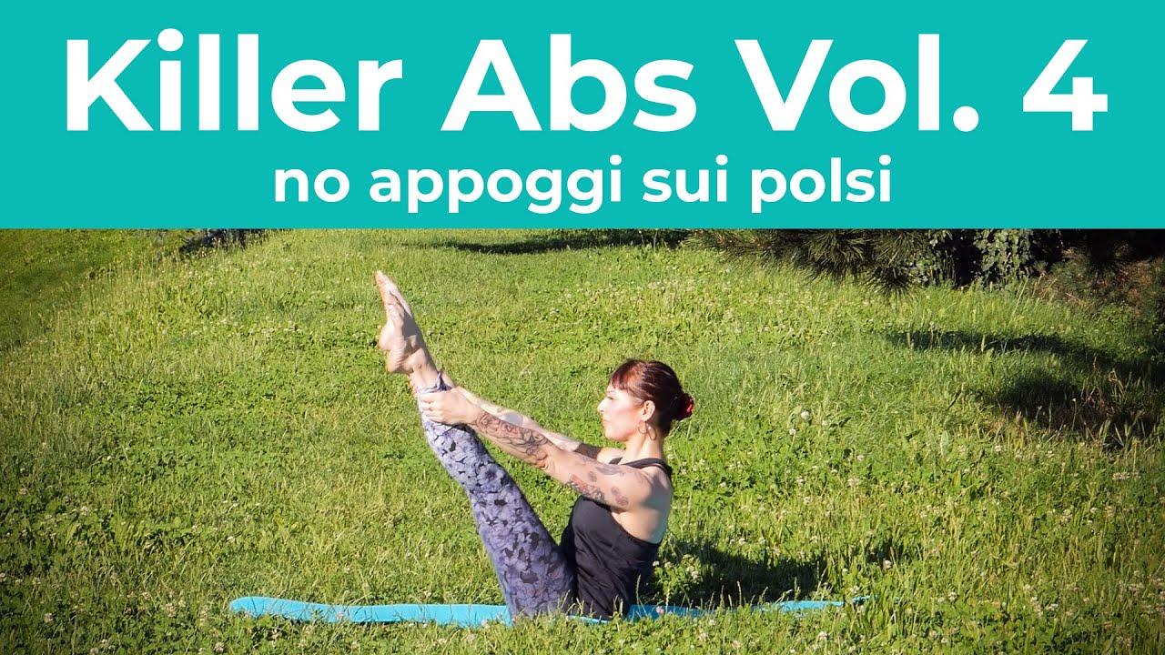 Pilates | Killer Abs Vol. 4 - no appoggi sui polsi