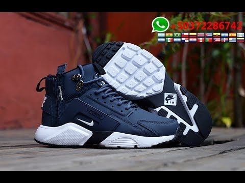 NIKE Huarache X Acronym City MID Leather 2017 Alta Calidad 1:1 Made in China