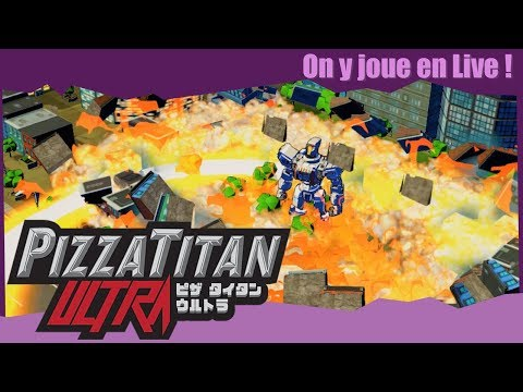 Pizza Titan Ultra - Livraison de Fulguro-Peperroni !
