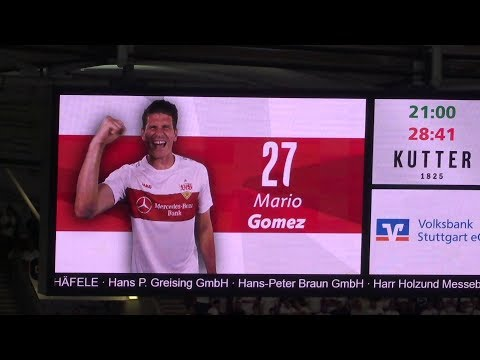 VfB Vs. Hannover 96 - 29.': TOR Gomez = 1:0 (2019 Live @ Mercedes-Benz Arena - Stuttgart)