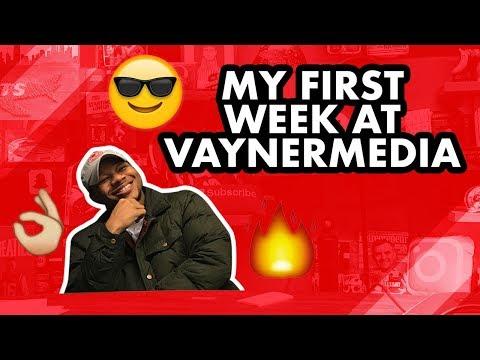 MY FIRST WEEK AT VAYNERMEDIA