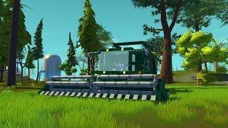 SCRAP MECHANIC- Combine Harvester - Kombajn Rolniczy/Zbożowy