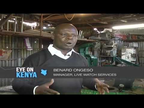 Kenyan entrepreneur cashing in on old metallic barrels