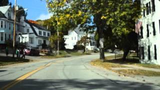 A drive through Bangor, Maine