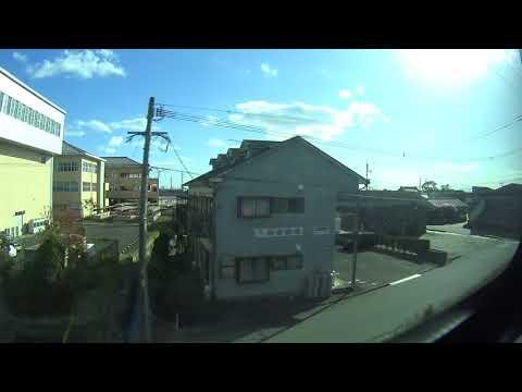 Japan Travel - JR Train (Hakata to Nagasaki)