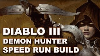 Diablo 3: Campaign Speed Run Demon Hunter Build & Guide (2.0.1)
