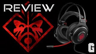 PLENTY OF PUNCH! : HP 800 Omen Gaming Headset REVIEW!