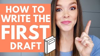 How to Write the First Draft of Your Novel | HopeFullHappenings