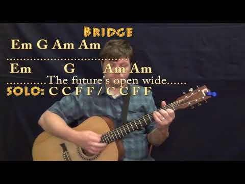 I Melt With You (Modern English) Guitar Lesson Chord Chart with Chords/Lyrics