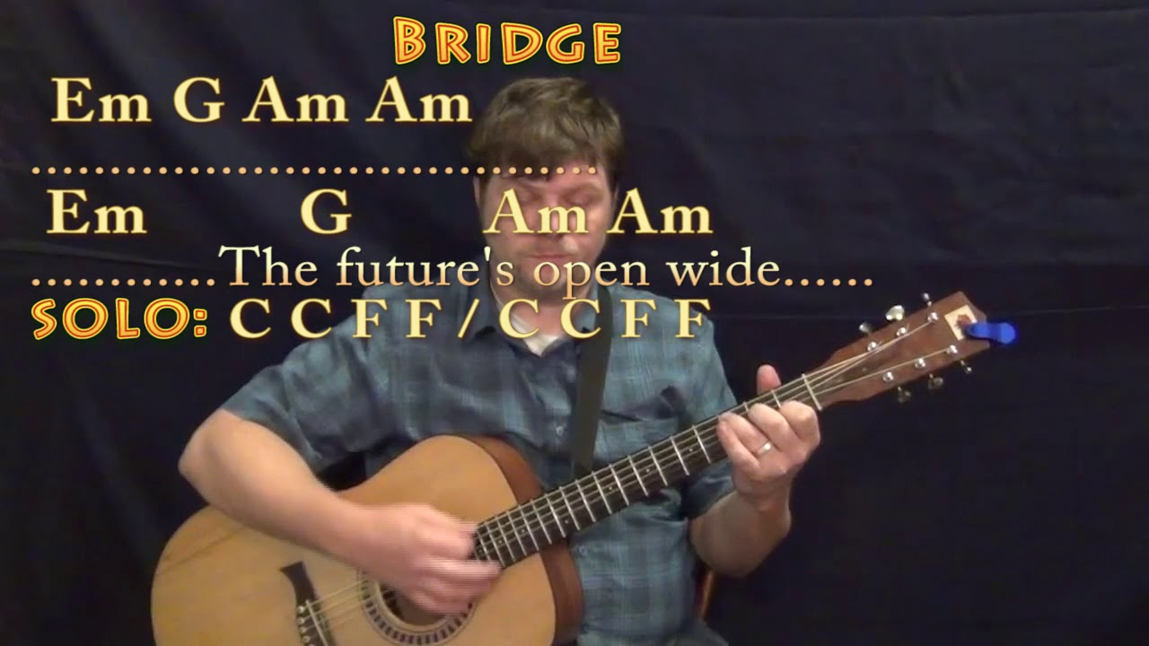 I Melt With You Modern English Guitar Lesson Chord Chart With