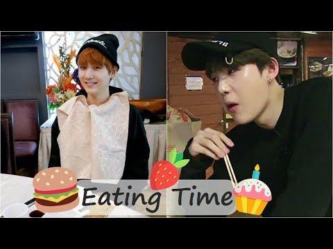 Yoongi Eating Time