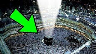 لن تصدق ماذا يوجد فوق الكعبه المشرفه؟؟ معجزه هزت العالم سبحان الله ...!!!!!!