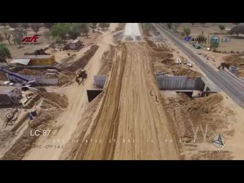 Drone Video - Western Dedicated Freight Corridor DFC