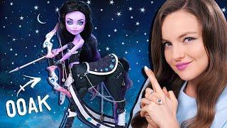 обзор ООАК Кентавр Стрелец, гибрид кукол Monster High  Подарки на день рождения