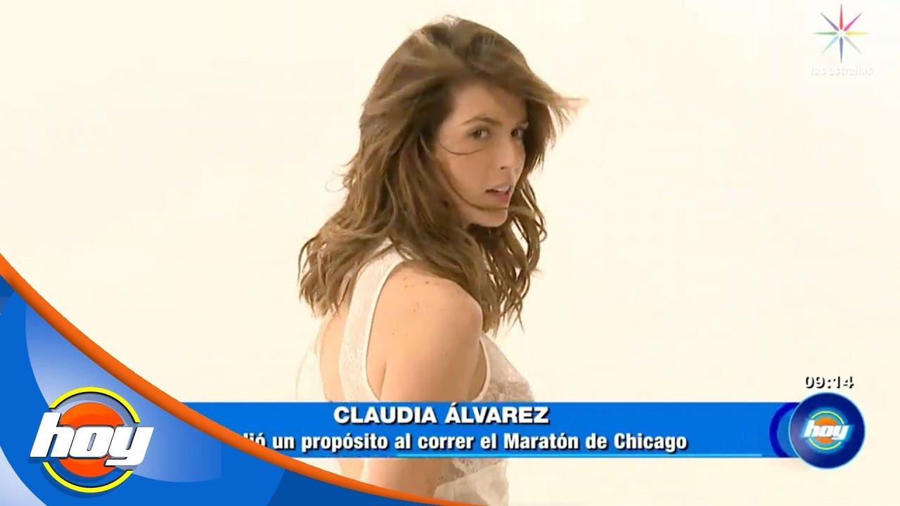 ¿Claudia Álvarez deja la actuación por ser maratonista?   Hoy