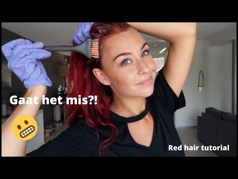 Gaat het mis?! Red Hair Tutorial - Danique Hogguer.