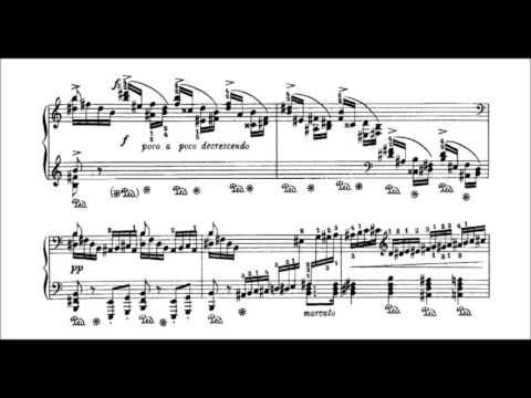 Weber-Godowsky - Piano Sonata No. 1, 4th movement (audio + sheet music)
