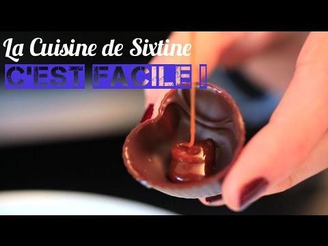 Chocolats maison - La Cuisine de Sixtine