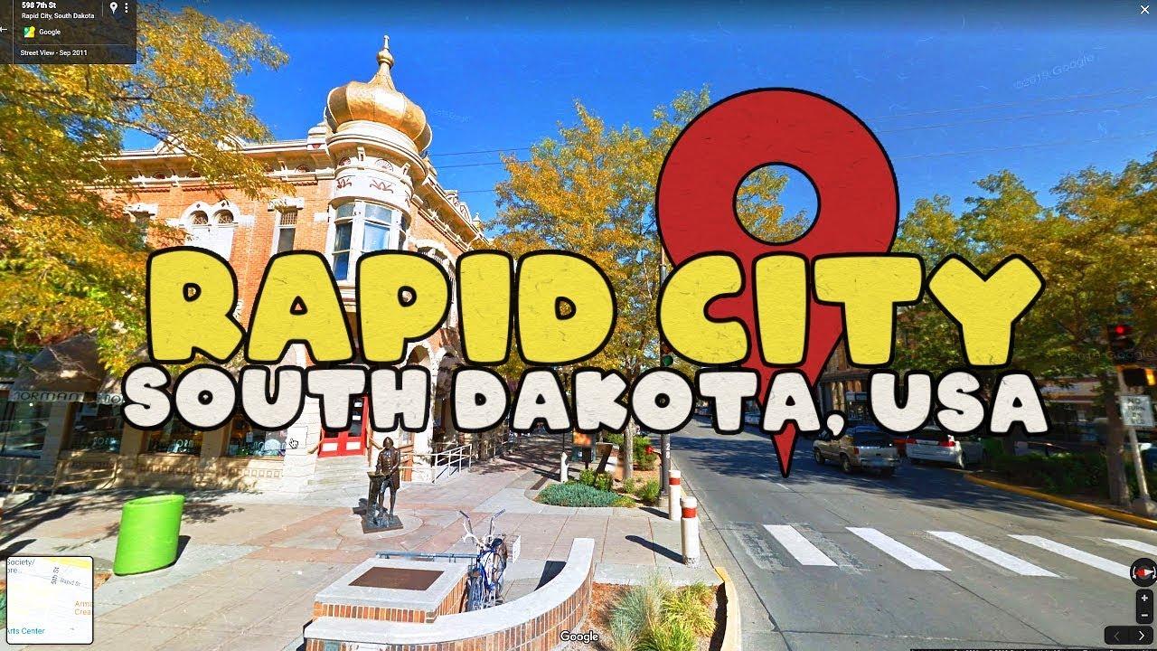 Virtual touring Rapid City, South Dakota