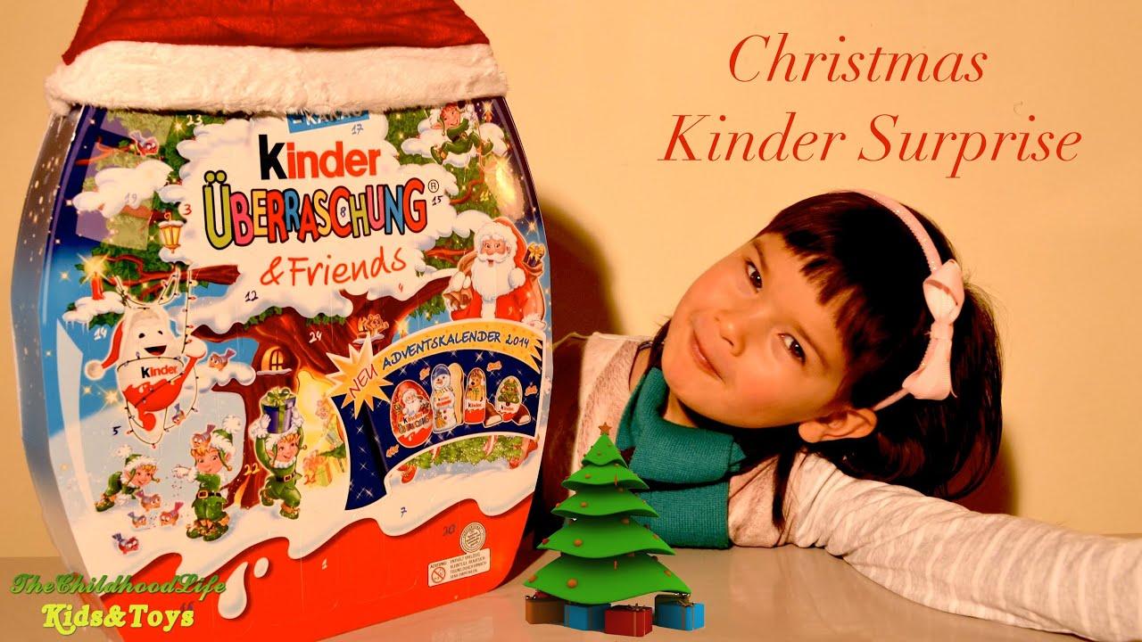 Christmas Kinder Surprise Eggs Kinder Surprise Advent Calendar